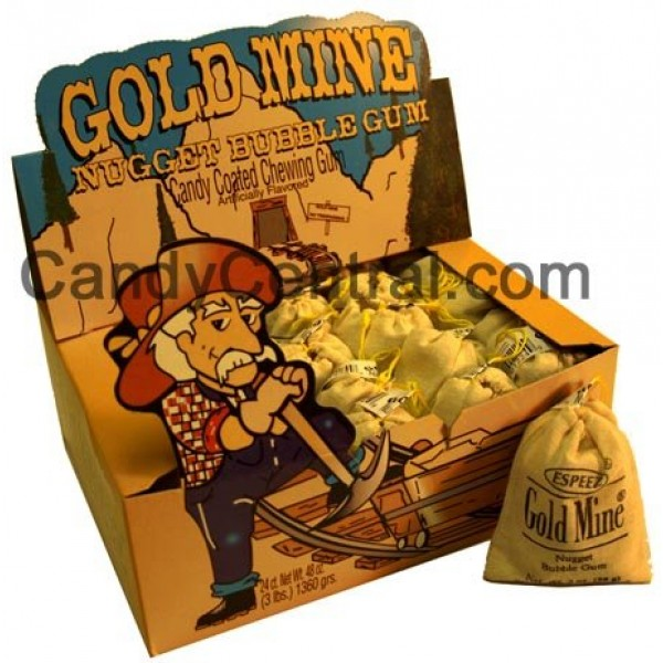 Gold Mine Bubble Gum