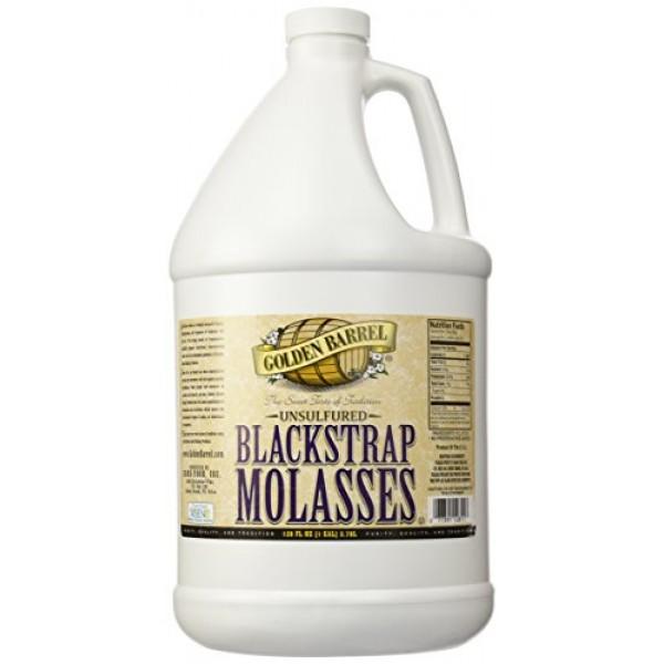 Golden Barrel Bulk Unsulfured Blackstrap Molasses Jug 128 Fl Oz