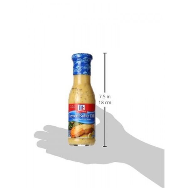 Golden Dipt Sauce Lemon Butter Dill, 8.4 oz