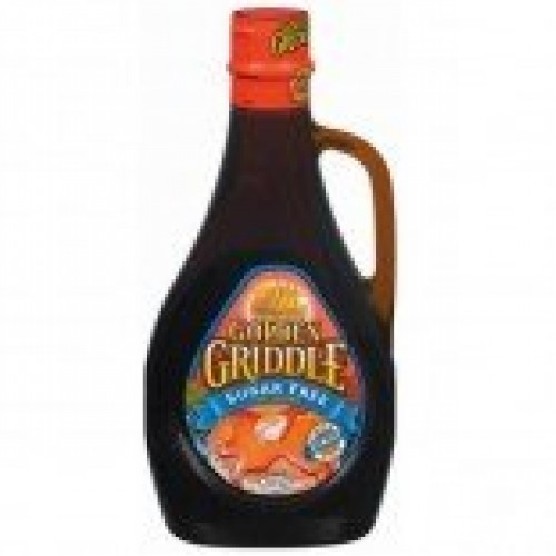 Golden Griddle PP Sugar Free Syrup, 24-Ounce Pack of 4