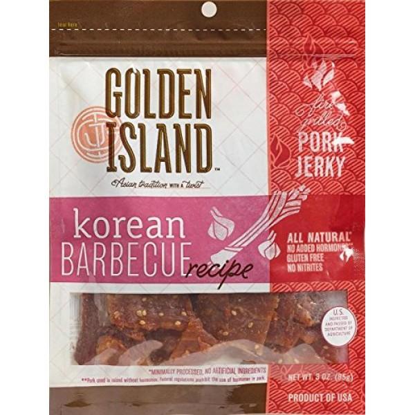 Golden Island Fire Grilled Pork Jerky Korean Barbecue Receipe - ...