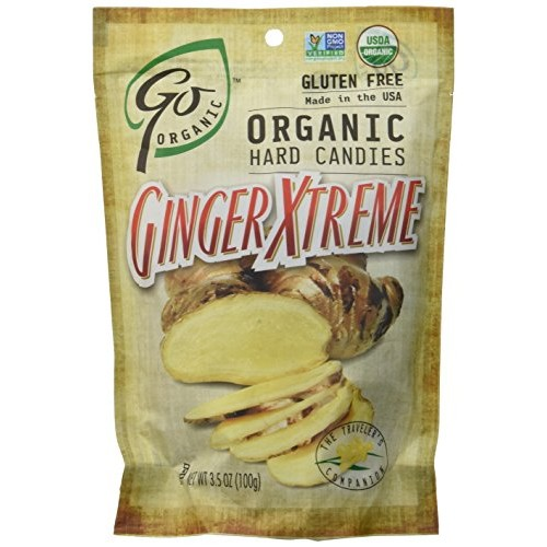 Go Naturally, Candy Ginger Xtreme Hard Organic, 3.5 Ounce