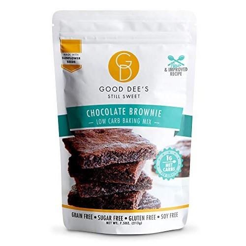 Good Dee's Brownie Mix – Low carb, Keto Brownies, Sugar free, Gl...