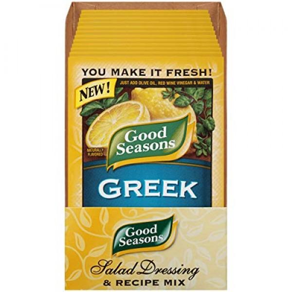 Good Seasons Greek Dressing & Recipe Mix, 0.7 oz Envelope