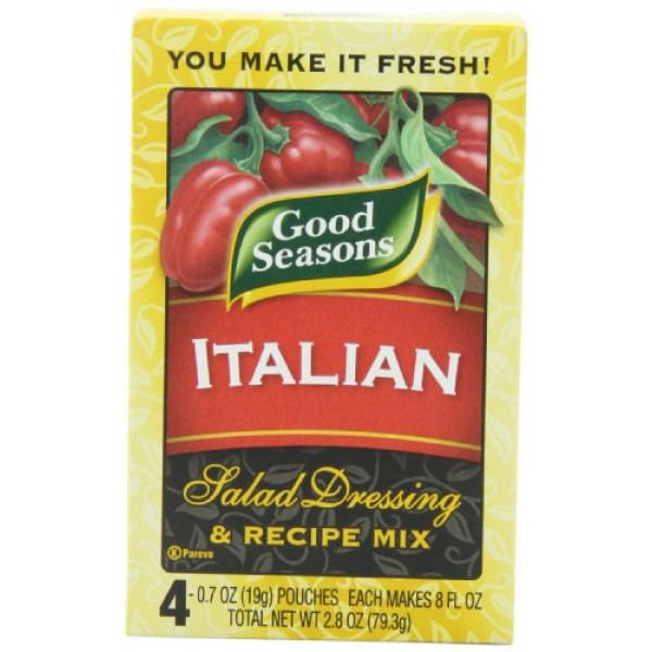 Good Seasons Italian All Natural Salad Dressing & Recipe Mix 16...