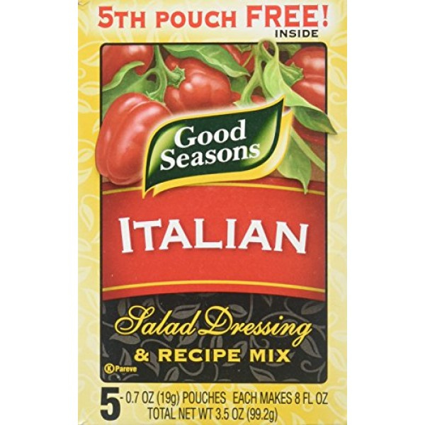 Good Seasons Italian Salad Dressing & Recipe Mix 2 Boxes Contai...