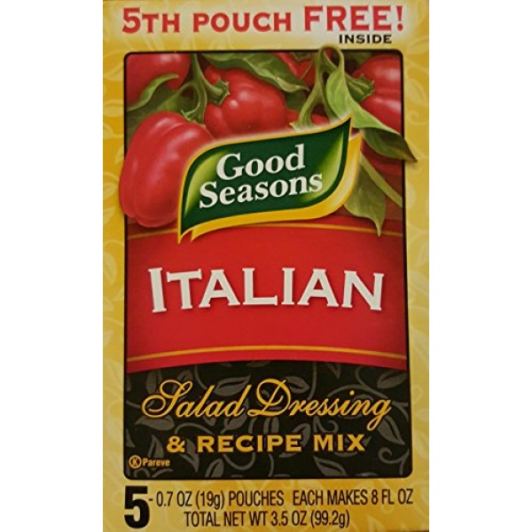 Good Seasons Italian Salad Dressing & Recipe Mix Box Containing...