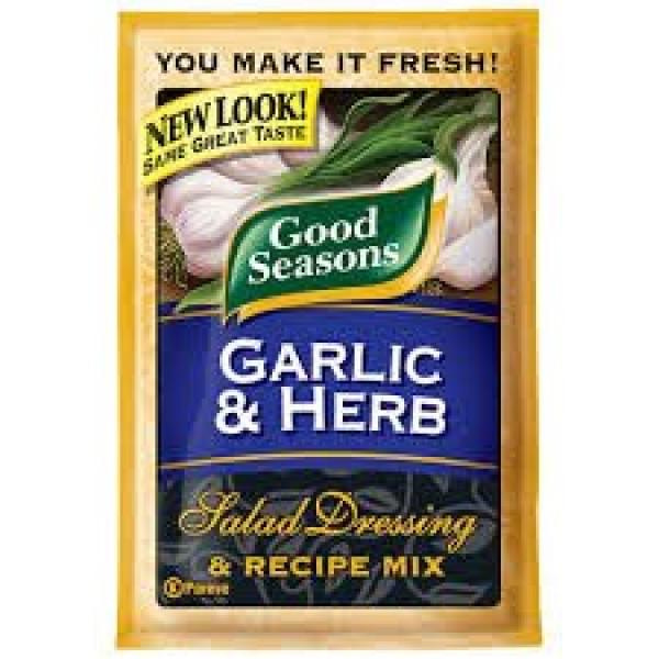 Good Seasons Salad Dressing & Recipe Mix .6-.75oz Packets Pack ...