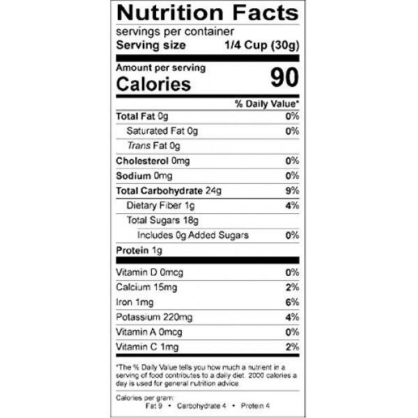 Good Sense Dark Seedless Raisins, 30 Pound bag 30 lb