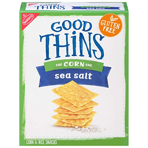 3 boxes - Nabisco Good Thins, Corn, Sea Salt, 3.5 oz per box