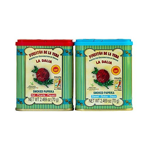 Created For Gourmanity Spanish Smoked Paprika Sweet & Hot Twin P...