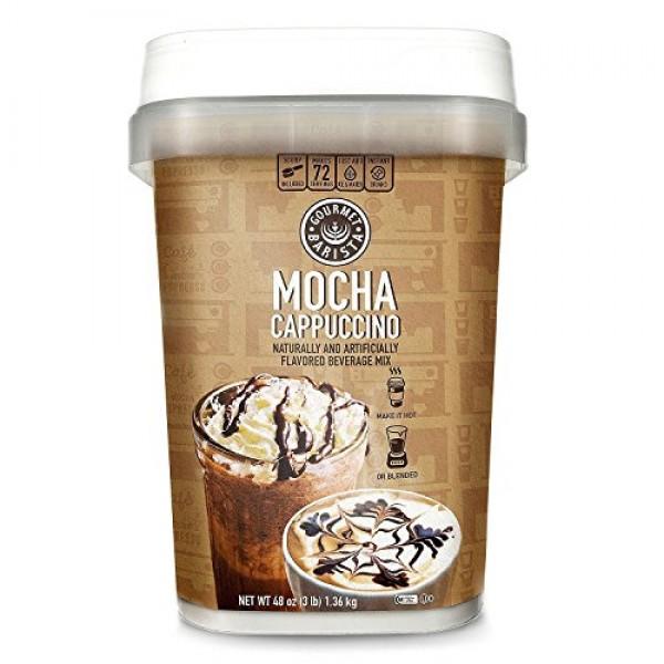 Gourmet Barista Mocha Cappuccino Mix 48 oz.