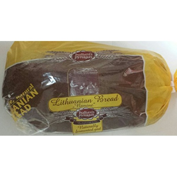Imported Lithuanian Rye Bread Pack of 2