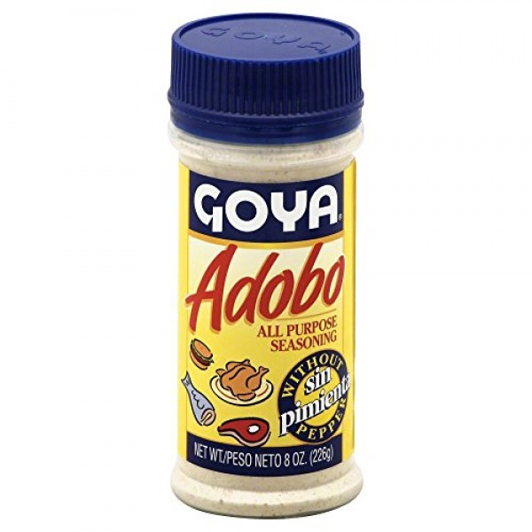 Goya Adobo without Pepper 8.0 OZPack of 2