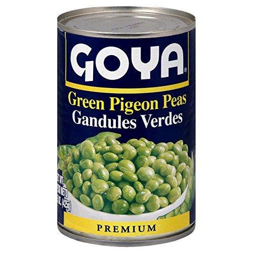 Goya Green Pigeon Peas 15.0 OZPack of 6