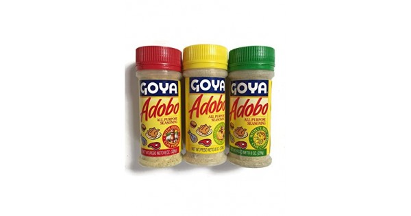 Goya Adobo Seasoning 1 With Pepper 1 With Cumin And 1 With