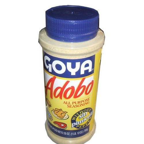 Goya Adobo Seasoning Without Pepper 28 Ounces 2 Pack