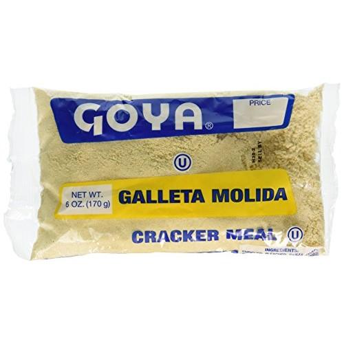 Goya Cracker Meal, 6 Ounce