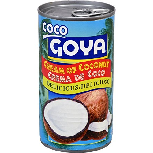 Goya Foods Cream of Coconut, 15-Ounce Pack of 24