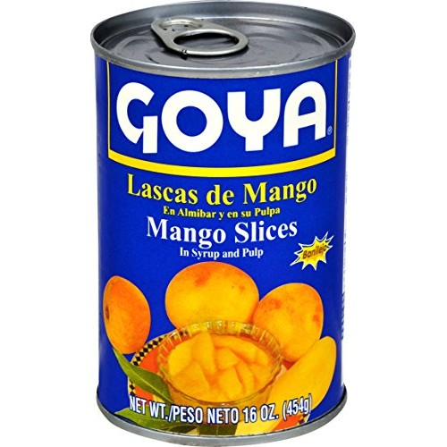 Goya Foods Mango Slices with Pulp, 16 Ounce Pack of 24