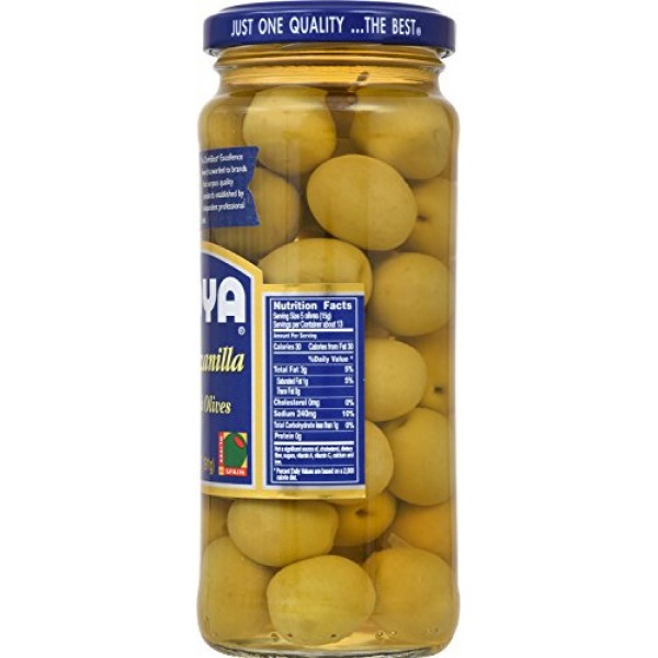 Goya Manzanilla Spanish Olives, 6.75 oz