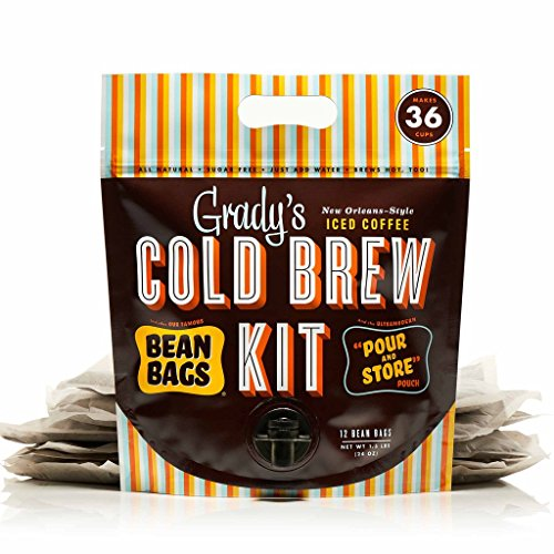 Gradys Cold Brew Iced Coffee Cold Brew Kit, Regular Pack of 12...
