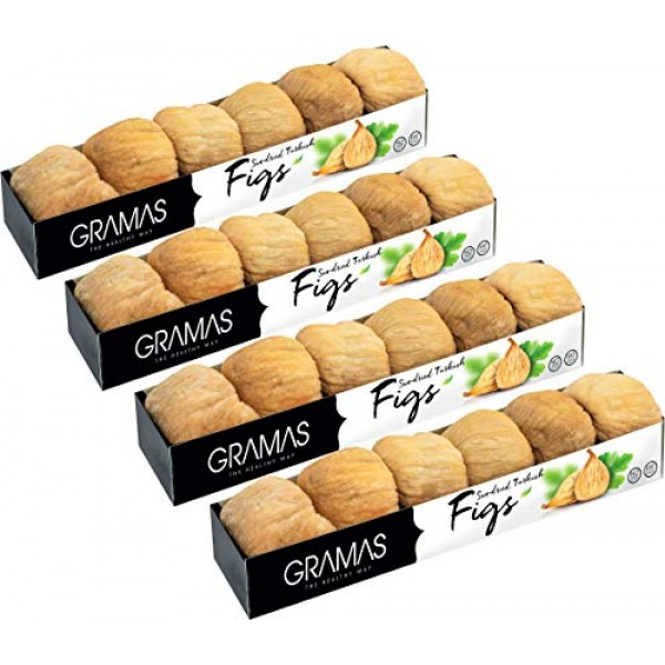 Gramas Natural Sun-Dried Figs in Pulled Form, Vegan, Gluten-Free...