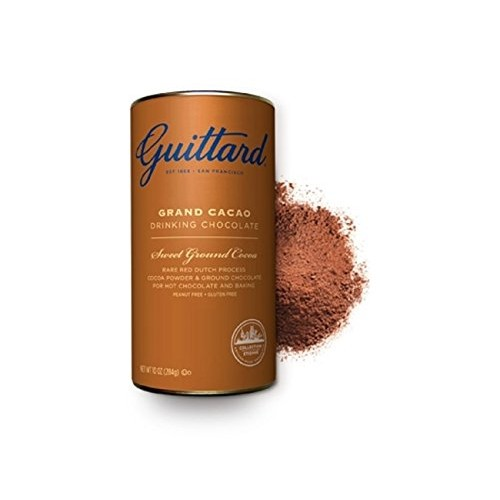 E. Guittard Grand Cacao fine Dutched Drinking Chocolate 3 Pack...