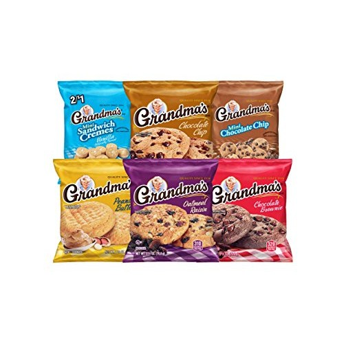Grandmas Cookies Variety Pack of 30