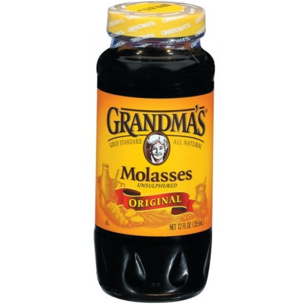 Grandmas Original Molasses All Natural, Unsulphured - 12oz