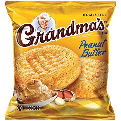 Grandmas Peanut Butter Cookies, 2.5 Ounce Pack of 60