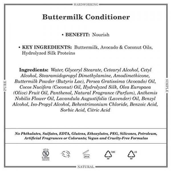 Grandpas Conditioner Buttermilk, 8 oz