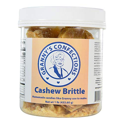 Handmade Cashew Brittle. Premium Cashews. Voted Best Brittle - O...