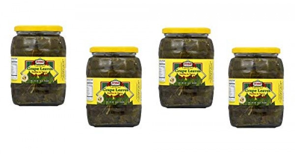 Ziyad Grape Leaves Pack Of 4 Jars 16oz 454g Tender