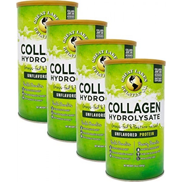 Great Lakes Gelatin, Collagen Hydrolysate, Unflavored Beef Prote...