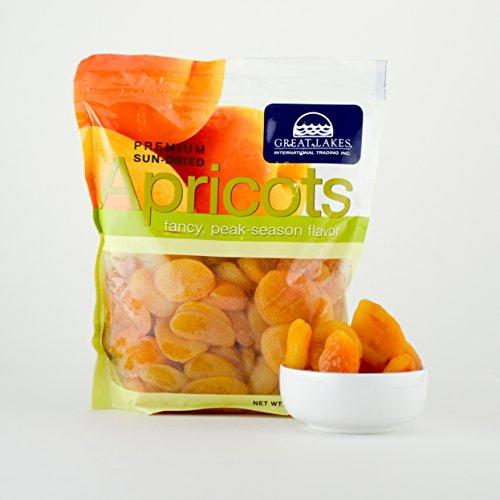 Sun-Dried Apricots - 32oz Bag Kosher