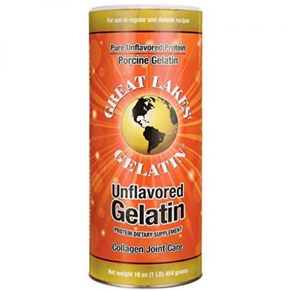 Great Lakes Gelatin Pure, 1 lb