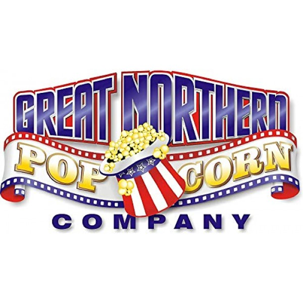 4110 Great Northern Popcorn Premium 8 Ounce Pack of 24 Popcorn...