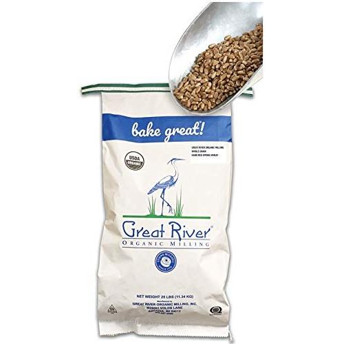 Great River Organic Milling - Organic Whole Grains Hard Red Spri...