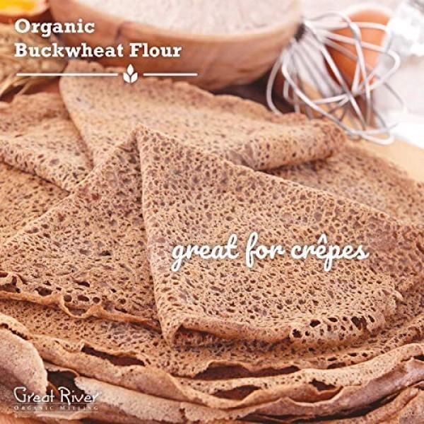 Great River Organic Milling, Specialty Flour, Buckwheat Flour, O...