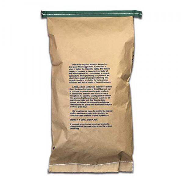 Great River Organic Milling, Whole Grain, Rye Grain, Organic, 25...