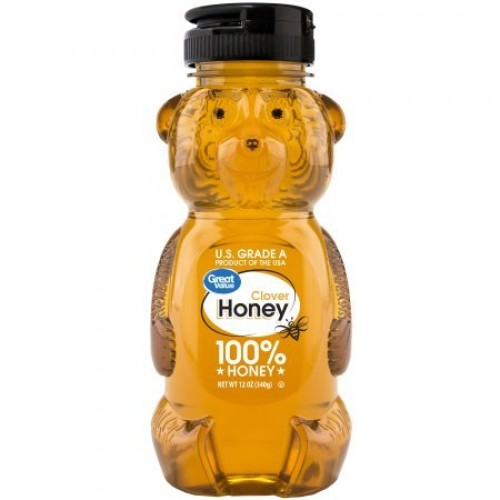 Great Value Clover Honey, 12 oz