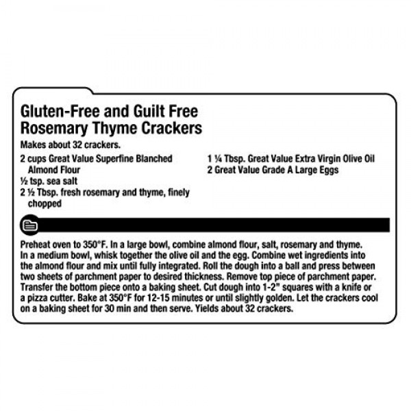 Great Value Superfine Blanched Almond Flour | Perfect for Gluten...