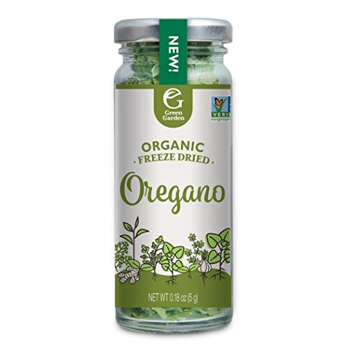 Green Garden Organic Freeze-Dried Oregano, 0.18 Ounces