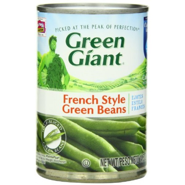 Green Giant French Style Green Beans, 14.5-Ounce Pack of 8
