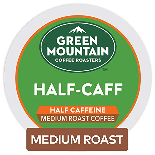 Green Mountain Coffee Half-Caff Keurig K-Cups Coffee, 12 Count