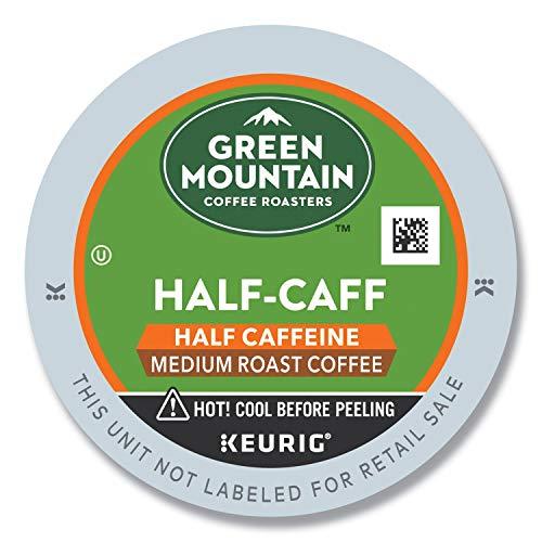 Green Mountain Coffee Roasters Half-Caff, Single Serve Coffee K-...