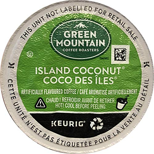 Green Mountain Coffee Roasters Island Coconut, Single Serve Coff...