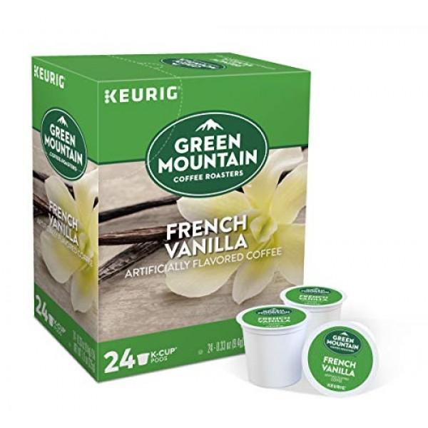 Green Mountain Coffee, French Vanilla, Single-Serve Keurig K-Cup...