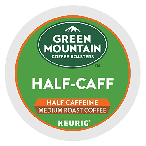 Green Mountain Coffee Half-Caff single serve K-Cup pods for Keur...